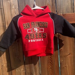 49ers Toddler sweatshirt